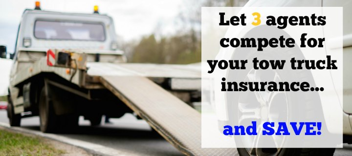 get 3 competitive towing insurance quotes